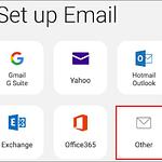 تنظیم ایمیلهای شرکت برروی گوشی از طریق پروتکل IMAP