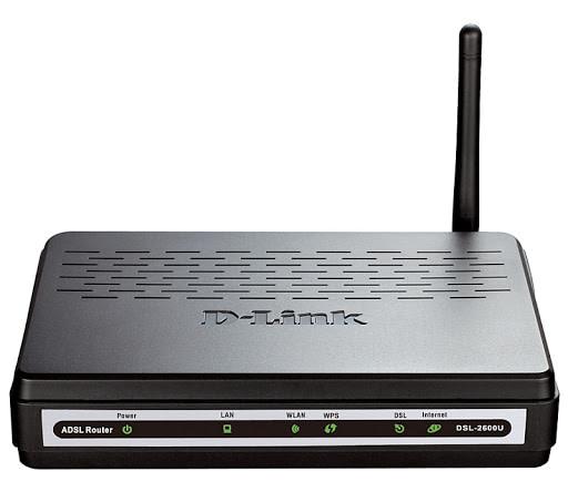 D link DSL 2600u